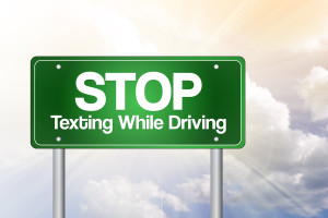 texting driving arizona footework