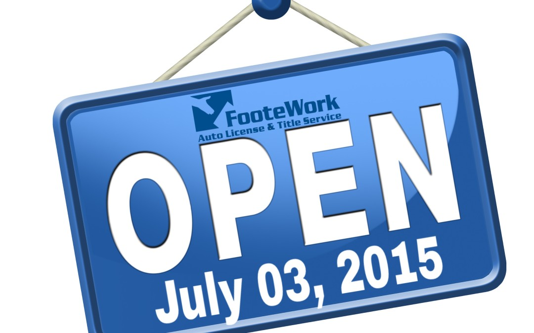 Open July 3rd for Driver License and Motor Vehicle Services