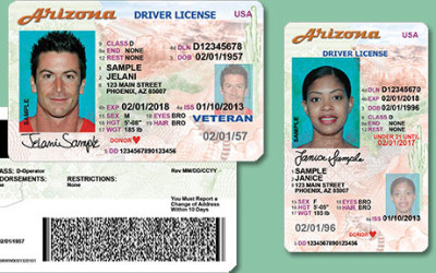 Identification Required to Apply for an Arizona State ID or Driver's License