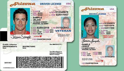 Drivers State Identification Or Az License An Needed For Id