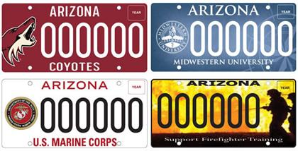 Specialty License Plates Raise Millions for Charity