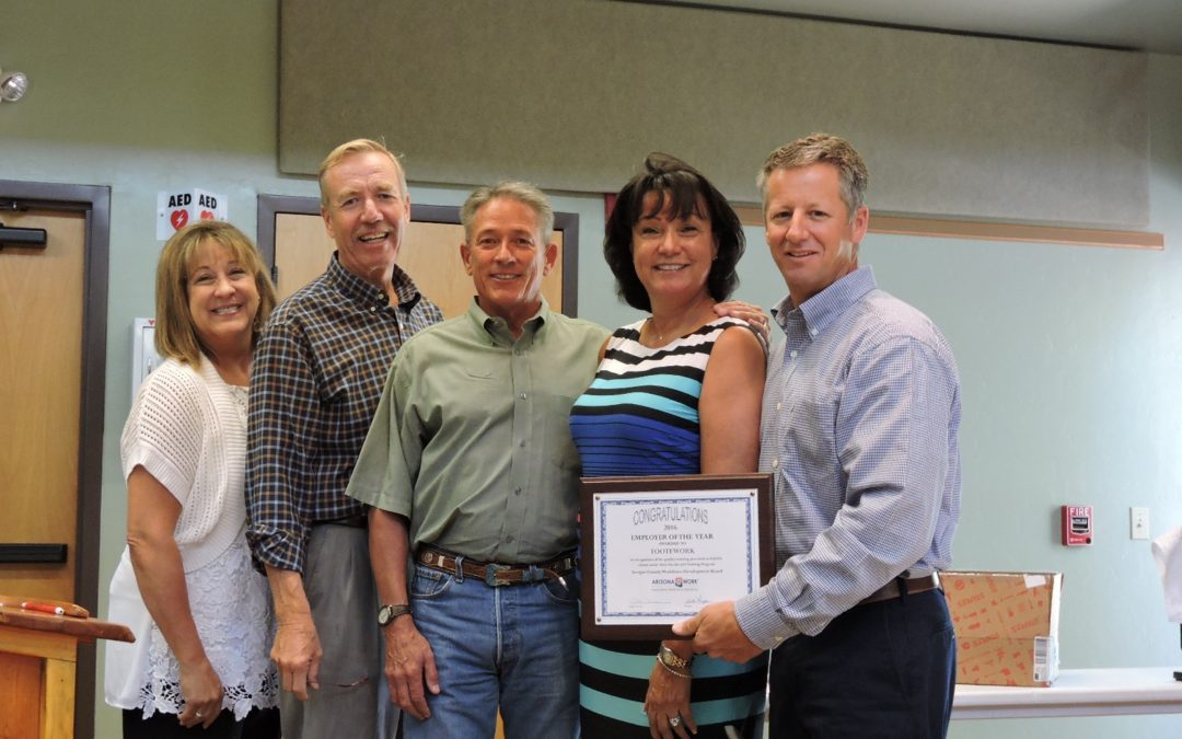 FooteWork Receives NACOG's Employer of the Year for Yavapai County