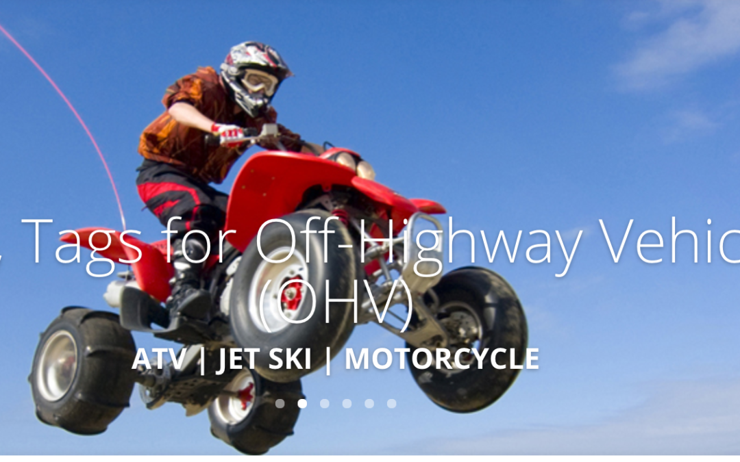 If an OHV Is on the Holiday List, Don't Forget the Safety Gear
