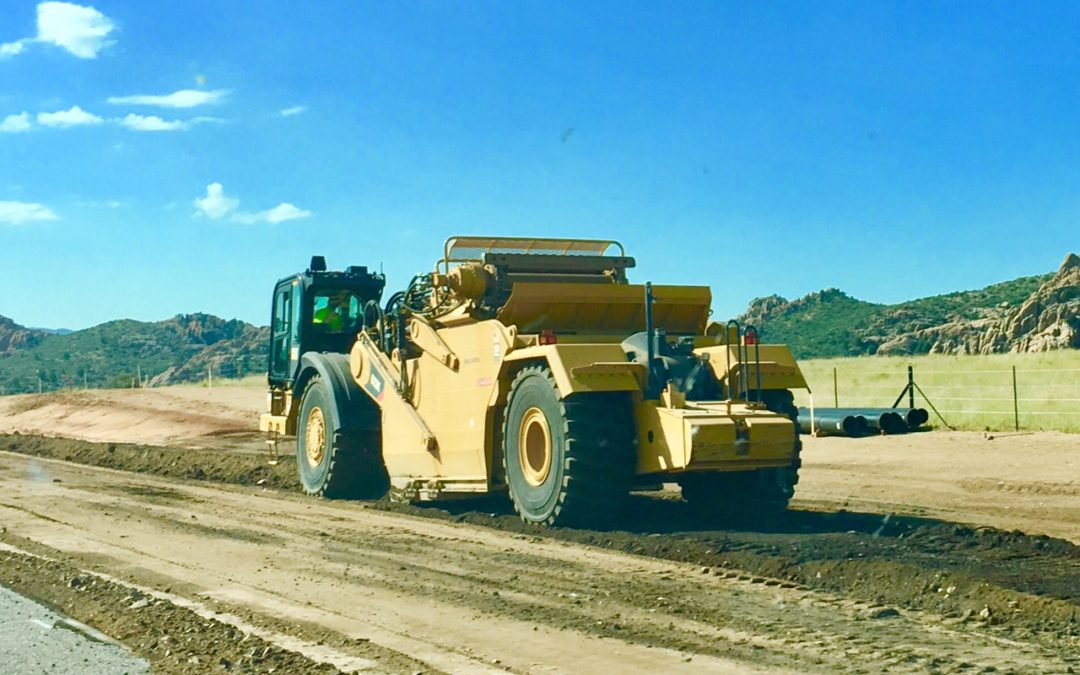 State Route 89 Road Work North of Prescott Continues with 3 Current Projects