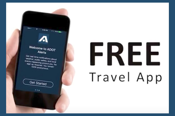 Official 'ADOT Alerts' Traffic App Aids Drivers