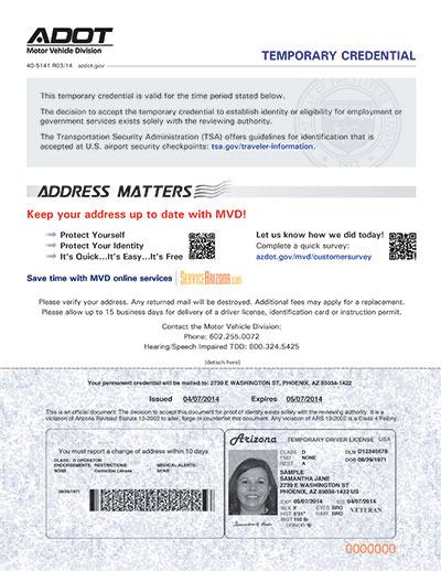 Prescott Adot - Driver Footework Permit Arizona Az