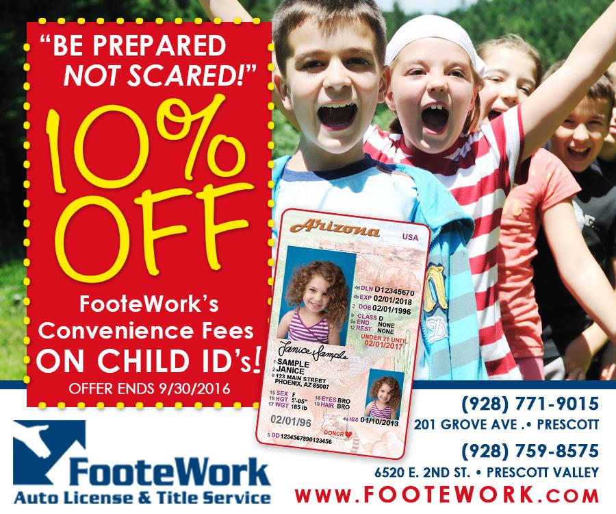 Child IDs FooteWork