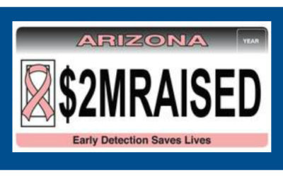 MVD Specialty Plate Raises $2 Million for Breast Cancer Awareness and Screening