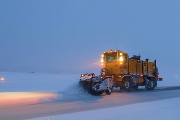 Snowfall & Snowplows
