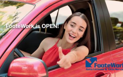ADOT's MVD Prescott Offices Closed, FooteWork's Prescott Valley and Prescott Offices Open!