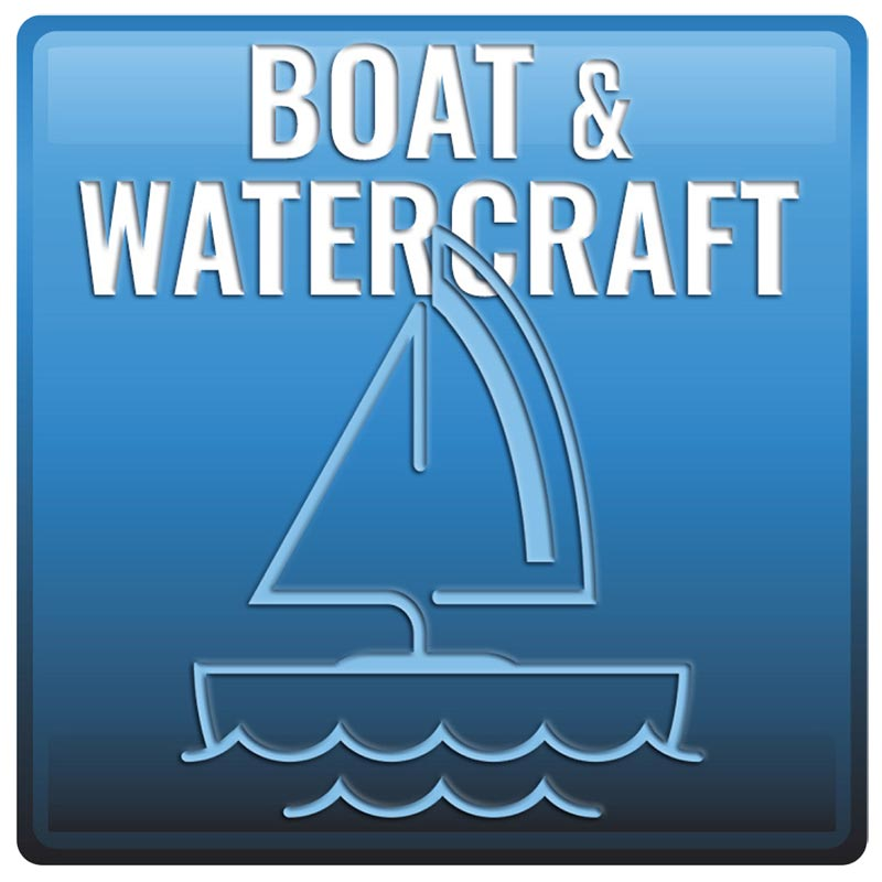 Boat and Watercraft Button